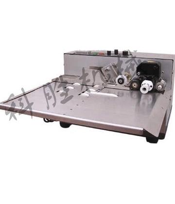 380加宽墨轮打码机_铝箔钢印热打码机