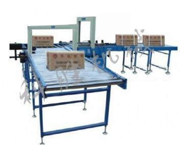 PP带十字打包生产线|纸箱包装生产线|PE带打包生产线